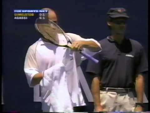 Gimelstob vs Agassi Los Angeles 1998