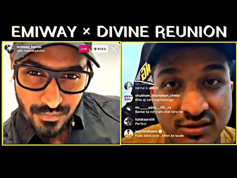 EMIWAY × DIVINE Full LIVE Together    Emiway Live with DIVINE    Emiway Divine Live   
