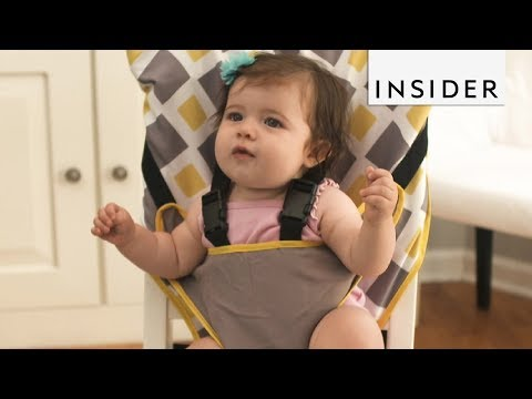 When Can Your Child Crunches inside a Highchair