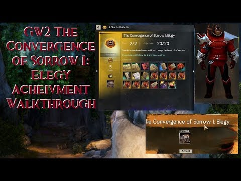 (GW2) The Convergence of sorrow I: Elegy Achievement Walkthrough
