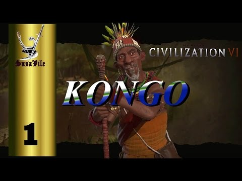 """Ep 1 - Civilization VI Kongo """"The first reactions"""""""