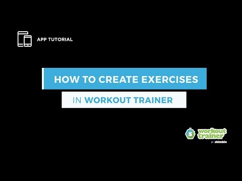 App Tutorial: How to Create Exercises in Workout Trainer thumbnail