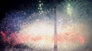 Пиротехническое шоу 4K. Круг света 2017. AllVideo