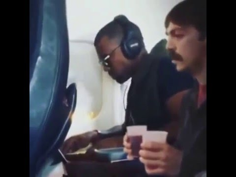Kanye do you want your cranberry juice?