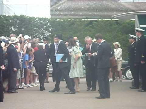 The Queen at Wimbledon!