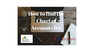 How to find the Chart of Accounts list in Microsoft Dynamics NAV 2013 R2