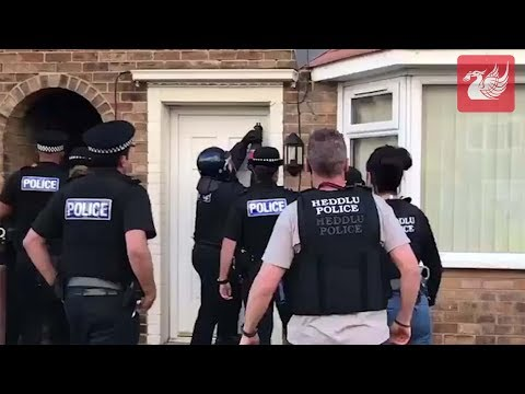 Police Raid Homes Across Merseyside & North Wales