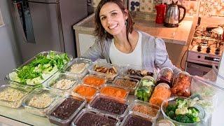 Como ORGANIZO os almoços da SEMANA TODA em 2 HORAS | Cozinha Bach 2 anos