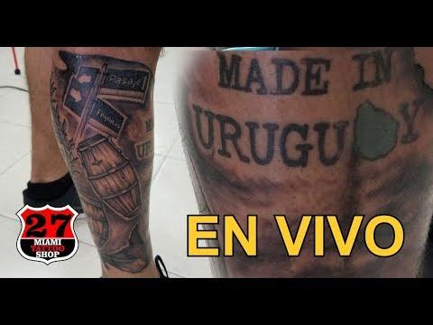 Omenaje a Uruguay Tattoo