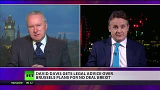 David Davis gets legal advice over Brussels plans for no deal Brexit