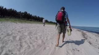 Дикий пляж-Отдых на о.Рюген 3-ий день 2016(Наш похож на остров Рюген подходил к концу и в последний день мы решили просто поваляться на пляже и немного..., 2016-10-09T14:24:57.000Z)