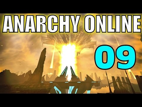 Anarchy Online #09 Bossfight [Let´s Play] [Gameplay] [German] [Deutsch]