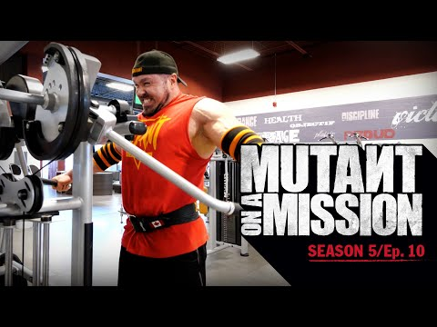 MUTANT ON A MISSION - ATLANTIS GYM, QUEBEC