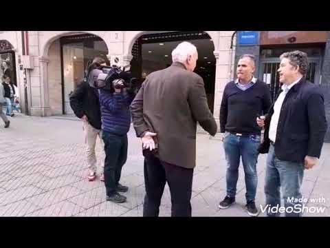 Rafa Domínguez sorprende a Lores, que fala nunha televisión