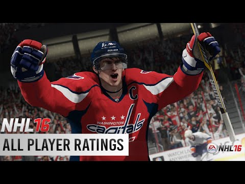NHL 16 - All Player Ratings / Overall Stats
