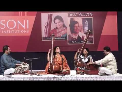 Devaki Pandit at Classical Conclave 2015, Nagpur
