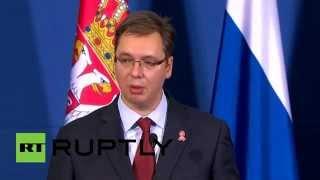Премьер-министр Сербии: Мы никогда не будем вводить санкции против России