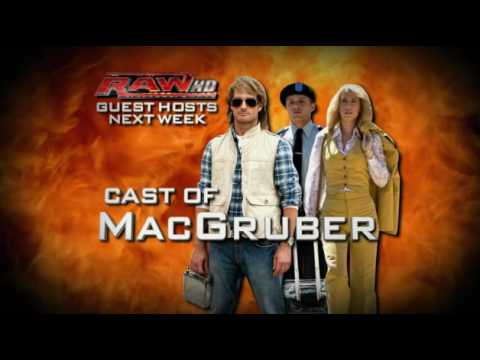 MacGruber Cast comes to Monday Night Raw!
