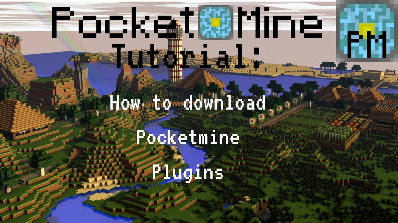 HOW TO DOWNLOAD PLUGINS TO POCKETMINE
