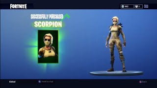 KAUFEN *NEU* SCORPION SKIN IN FORTNITE!! Vor U Buy