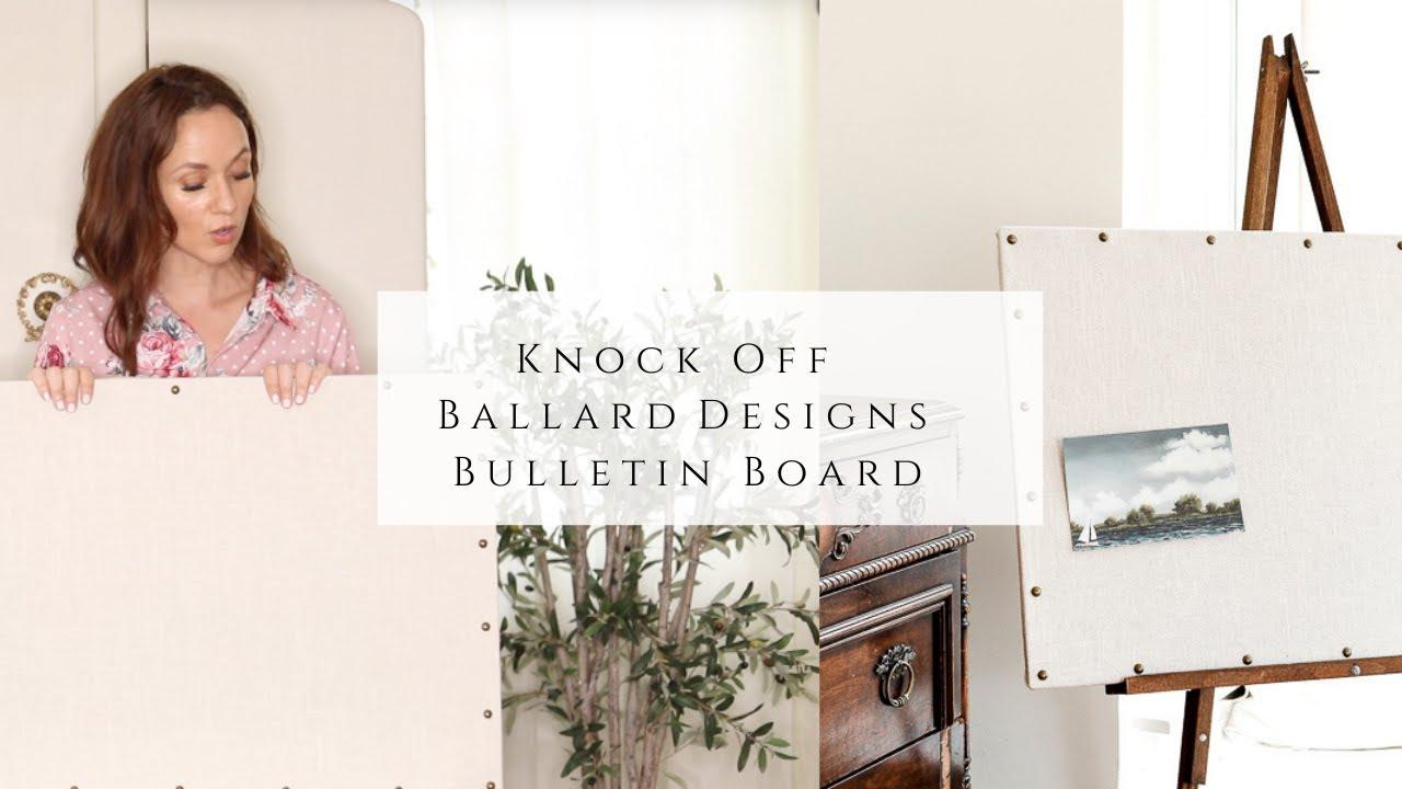 Knock Off Ballard Designs Bulletin Board