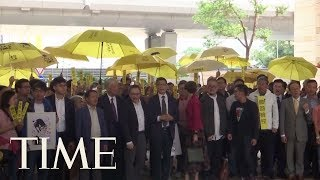 Hong Kong Democracy Leaders Go On Trial Over The 2014 Occupy Protests | TIME