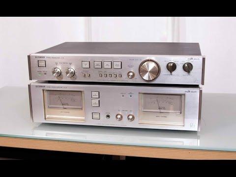 Luxman C2   M2 Test and Video di Sbisa' www audiocostruzioni com