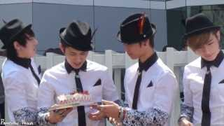 Video [Fancam] C-Clown 130421 - Kangjun's birthday Mini Fanmeet (Inkigayo) download MP3, 3GP, MP4, WEBM, AVI, FLV Desember 2017