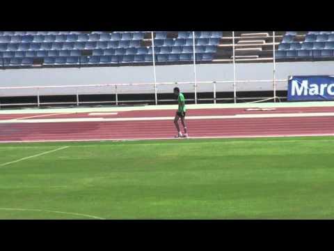 Team BOSS Baltic athlete Imad Laabadi do stadium training in Morocco 2011 August.mov