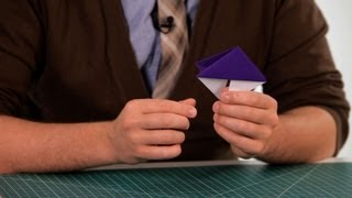 How to Make a Bookmark | Origami