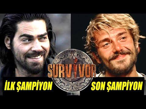Gelmiş Geçmiş Tüm Survivor Şampiyonları! 2005 - 2019