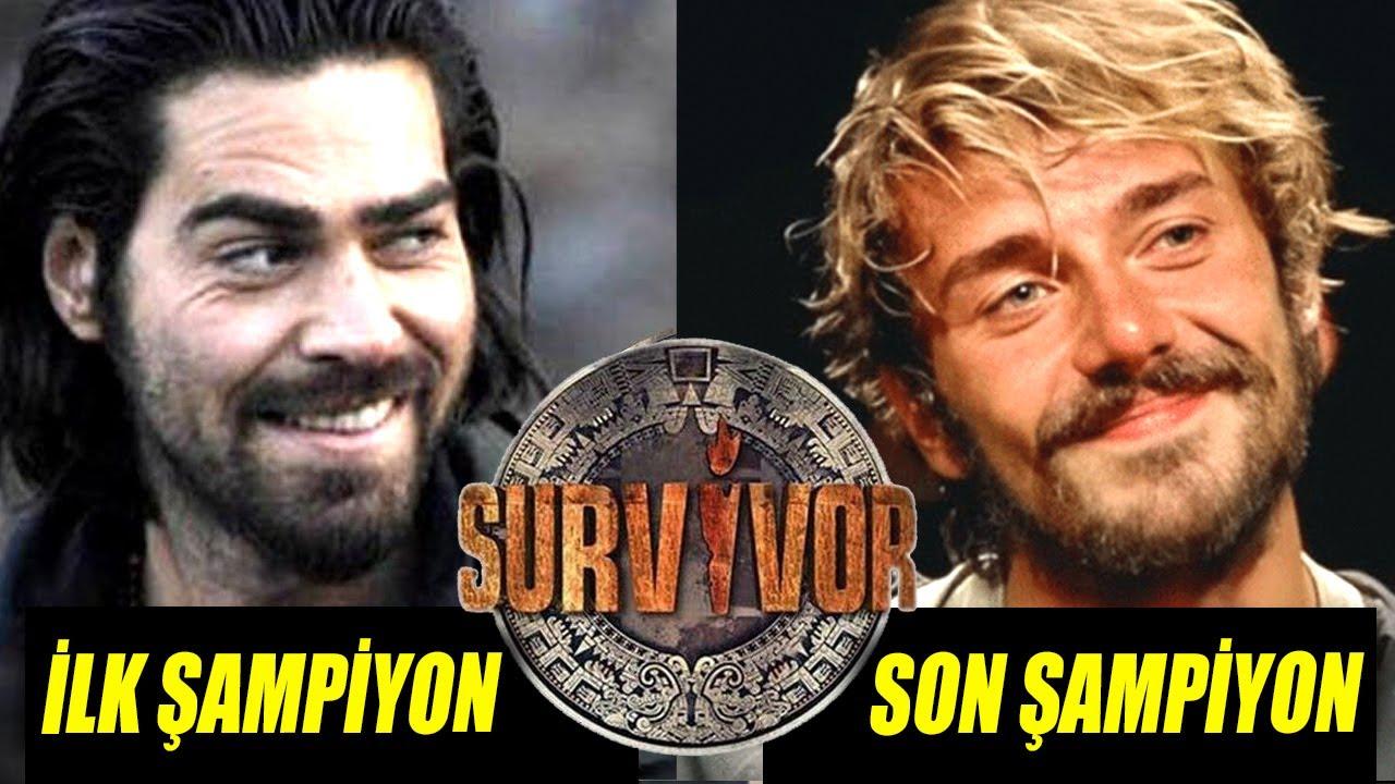Gelmiş Geçmiş Tüm Survivor Şampiyonları!