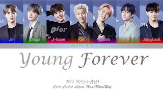 Bts (방탄소년단) – epilogue: young forever [color coded lyrics han/rom/eng]