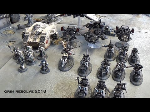 Dark Angels New Codex vs World Eaters II 8th Edition 40k Matched Play 2000pts