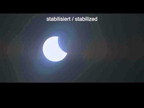 Sonnenfinsternis SoFi 2015 Deutschland Solar Eclipse 2015 Germany Zeitraffer Timelapse