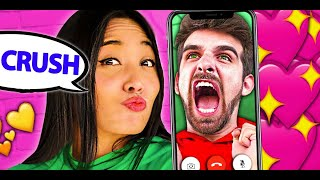 Chad Wild Clay & Vy Qwaint CUTE MOMENTS 💕 - PZ9 Face Reveal w/ Daniel & Regina - CWC Project Zorgo