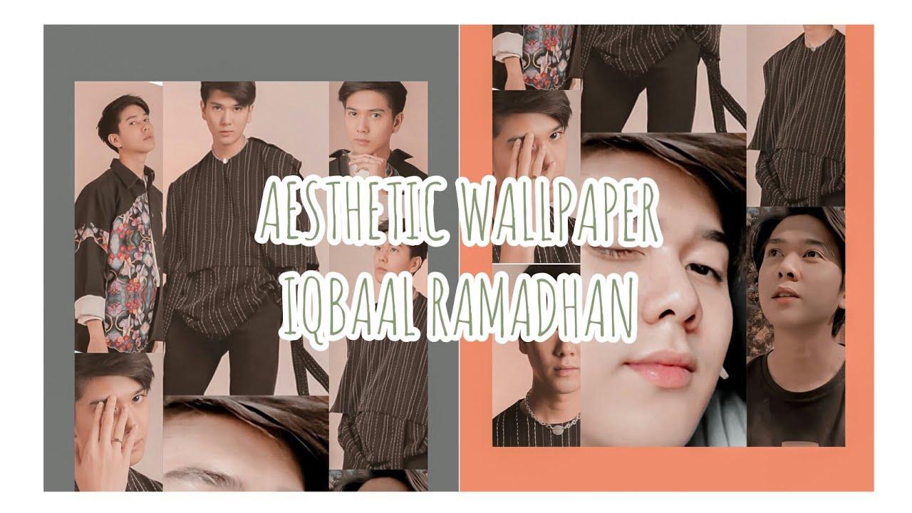 Wallpaper Iqbaal Ramadhan 2020 How To Edit Aesthetic Photo Youtube