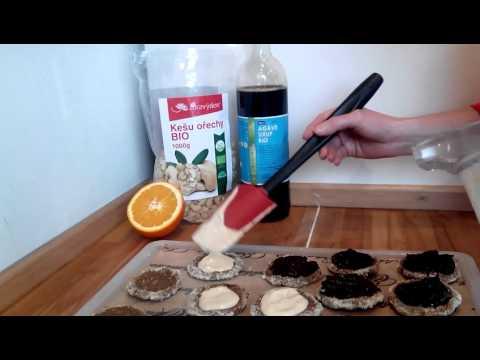 Tvarohové koláče Raw Bio, suroviny z www.goorganic.cz
