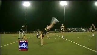 High School Cheerleader Breaks Handspring World Record
