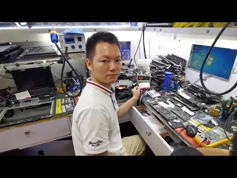 My Repair Shop In Shenzhen, China