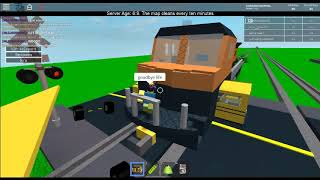 lol train bus crash on roblox