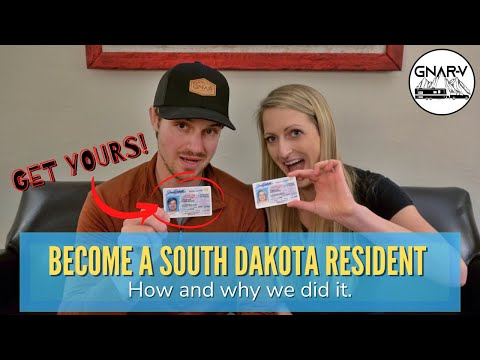 How to get domicile in South Dakota for full-time RV (How we become South Dakota residents)