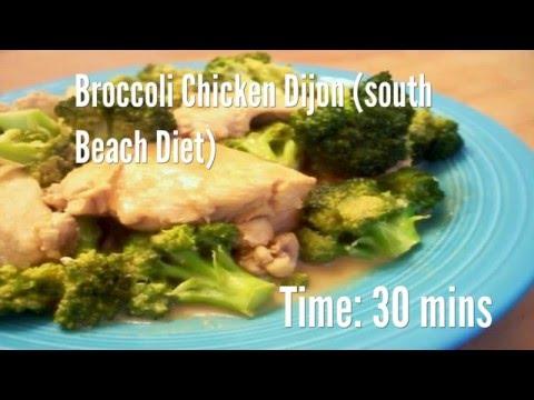 Broccoli Chicken Dijon (south Beach Diet) Recipe