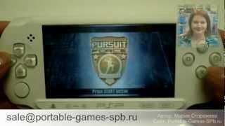 Sony PSP E1000 Street - обзор игровой приставки