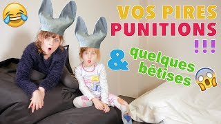 REACTIONS • VOS + GROSSES PUNITIONS !! - Studio Bubble Tea