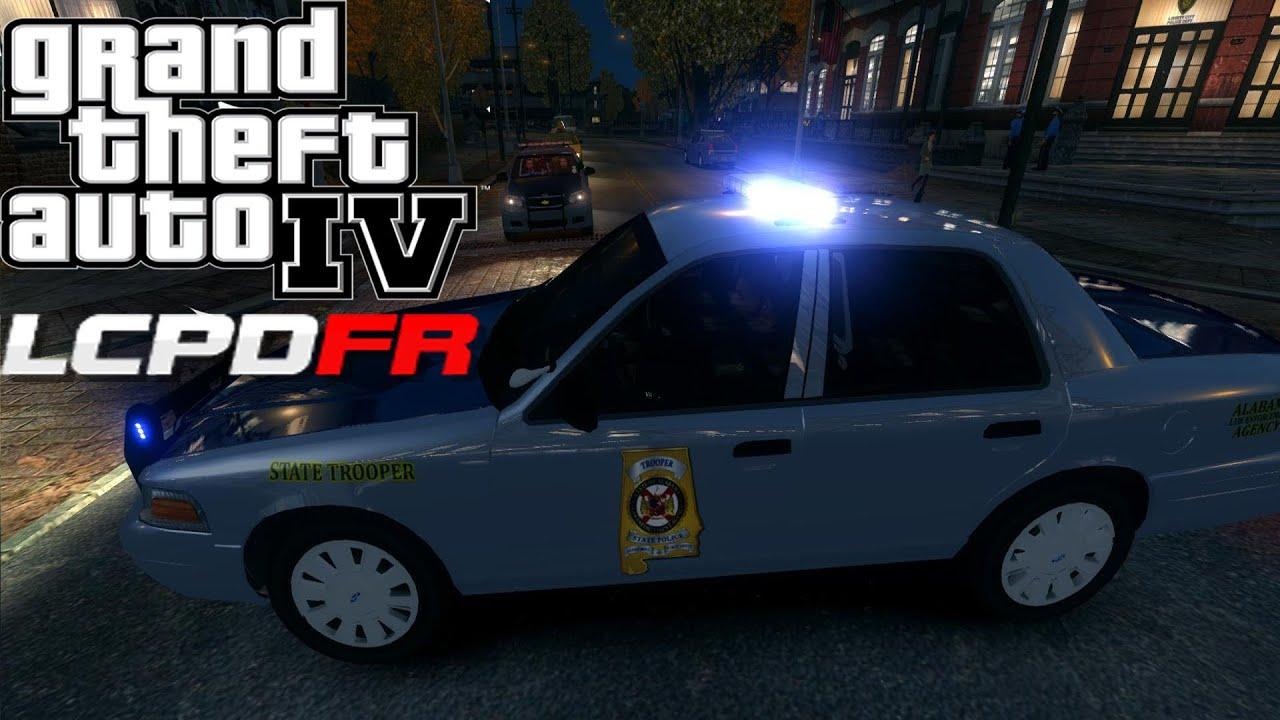 GTA IV LCPDFR 11 Day 74  Alabama State Police Crown Victoria