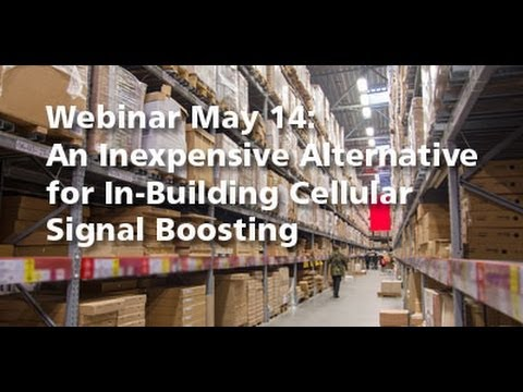An Inexpensive Alternative for In Building Cellular Signal Boosting