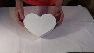 Caixa Coração (Parte 1) – Box Heart Shape (part 1)