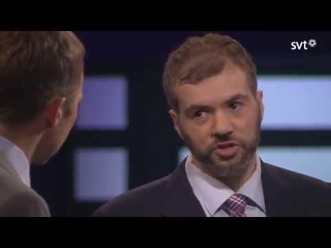 Tino Sanandaji Verbalt Mörbultar Sandro Scocco med Fakta i Agenda 2015-11-08