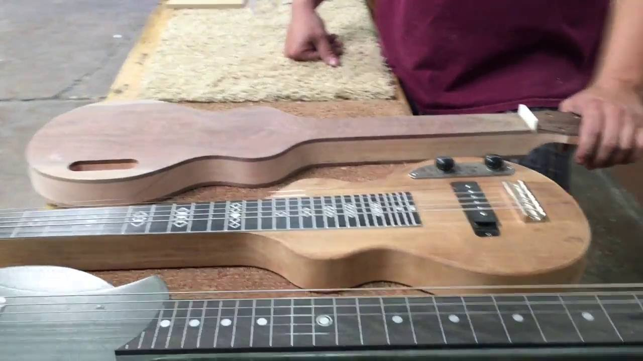 Its easy to Build Your Own Lap Steel Guitar